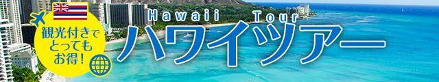 観光付きハワイツアー
