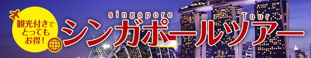 観光付きシンガポールツアー