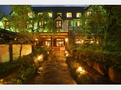 穂高荘山のホテル