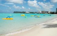 グアムのビーチリゾート