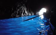 カプリ島(青の洞窟)