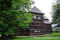 カルパティア山脈地域のスロバキア側の木造教会群