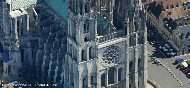 【世界遺産】シャルトル大聖堂(フランス) ヨーロッパを代表する宗教建築... フランス世界遺産:
