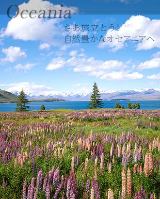春のニュージーランド