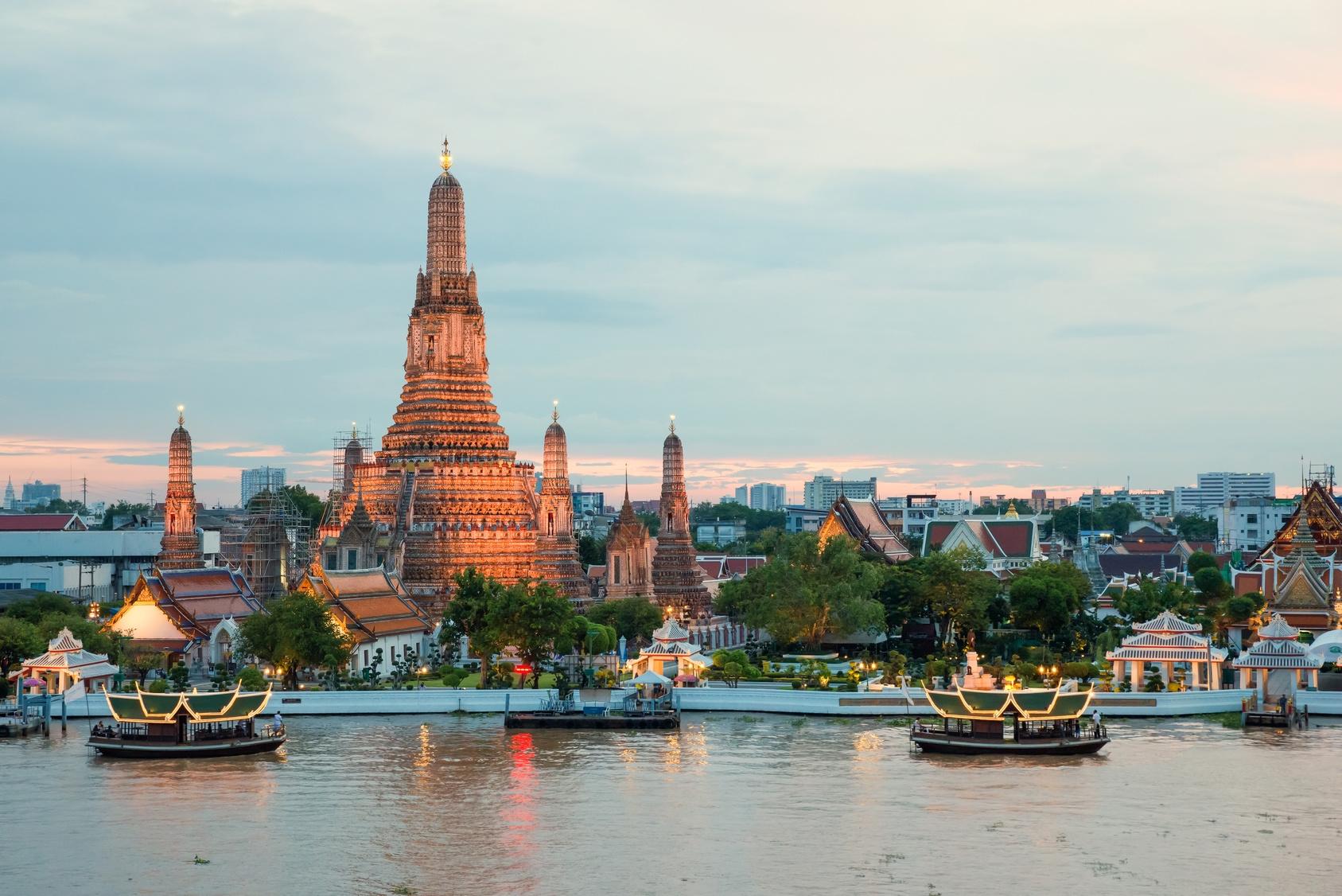 【新千歳発】タイ国際航空利用!バンコク 4・5日【春~秋のお買得】