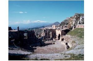 古代ギリシャの野外劇場