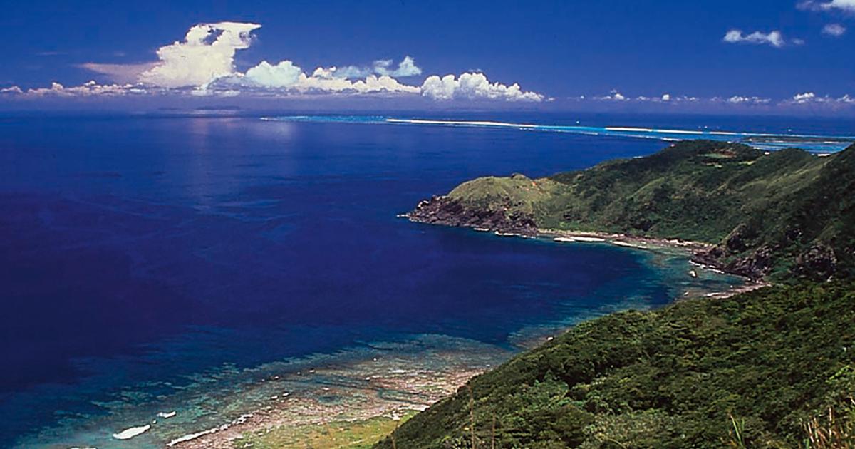 久米島の風景