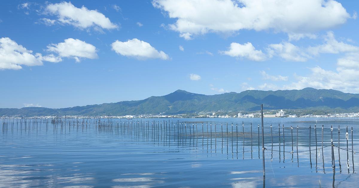 草津の風景