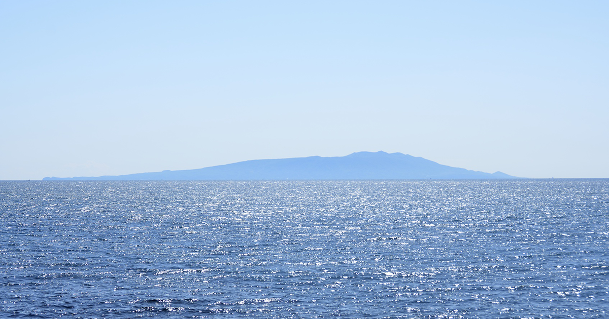 大島の風景