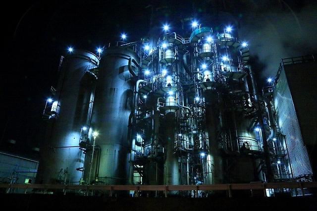 日本旅行写真部 京浜工業地帯 工場夜景撮影会
