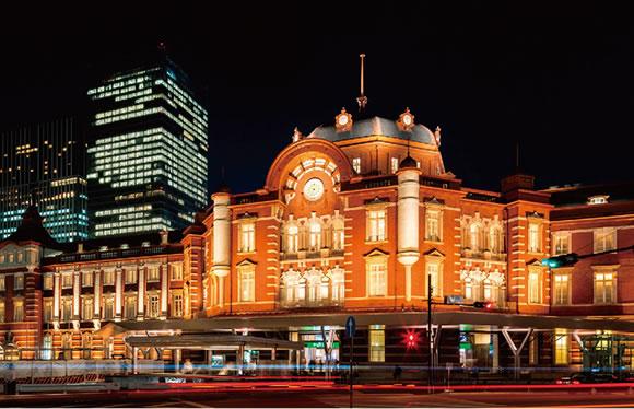 <伝統と格式の東京ステーションホテルに泊まる>専門ガイドによる東京駅丸の内駅舎ご案内と特別ディナー
