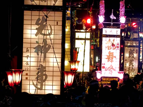 日本遺産 能登キリコ祭り 輪島大祭(入水神事と松明神事) 2日間