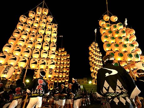 青森「ねぶた祭」と秋田「竿燈まつり」 3日間