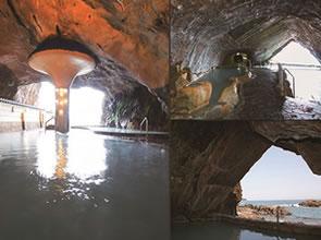 <洞窟風呂を体験!>JRで行く南紀勝浦温泉 ホテル浦島
