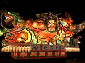 青森「ねぶた祭り」と秋田「竿燈まつり」 3日間