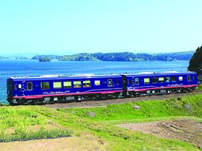 観光列車「花嫁のれん」と「のと里山里海号」にダブル乗車&奥能登周遊 2日間