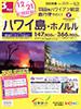 羽田発 ハワイアン航空直行便で行く! ハワイ島・ホノルル表紙