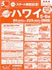 関空発 スクート就航記念! ハワイ 5・6日表紙