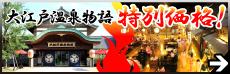 大江戸温泉物語 特別価格