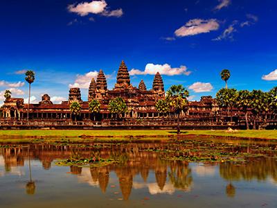 一度は観てみたい絶景をコンパクトに巡る旅!<br>カンボジア・アンコール遺跡 4・5日