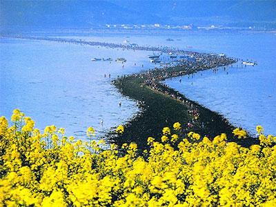 珍島の海割れと新しい世界遺産・百済歴史遺跡をめぐる 4日