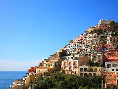 遊覧船に乗ってアマルフィ海岸の絶景を海から楽しむ!憧れのイタリア8日