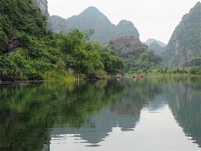 【一度は観たい感動絶景!ベトナム】陸のハロン湾 チャンアン