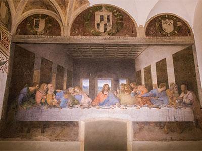 【成田発】ピサの斜塔の最上部まで登って傾きを体感!ダ・ヴィンチの傑作「最後の晩餐」を鑑賞!イタリアの休日8日