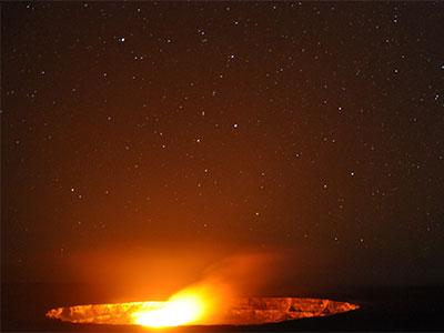 絶景 ハワイ島 キラウエア火山
