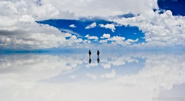 """【ボリビア】 雨季に現れる""""天空の鏡""""を心ゆくまで楽しむ キャンピングカーで巡る ウユニ塩湖 8日"""