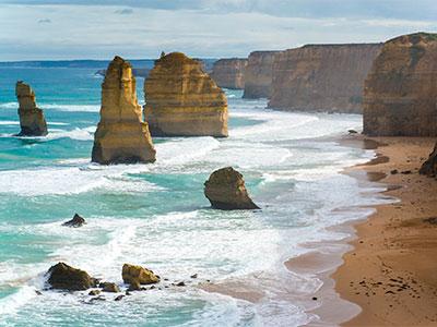 【絶景 オーストラリア】<br>雄大な海岸線「グレートオーシャンロード」に行く