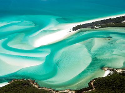絶景 オーストラリア 世界で最も美しいと称される「ホワイトヘブンビーチ」