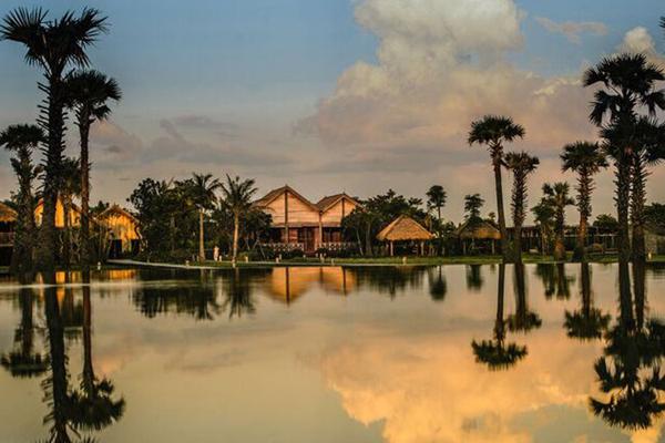【カンボジア】「緑の村」の名を持つ「プーム・バイタン」の隠れ家ヴィラに泊まる 微笑みの世界遺産アンコール 5日