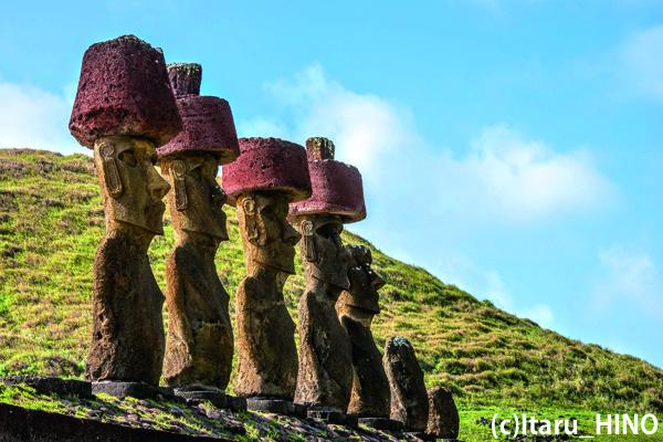【イースター】絶海の孤島 イースター島とタヒチ・ボラボラ島 8日