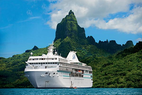 【タヒチ】ポール・ゴーギャン号で巡る ソシエテ諸島周遊の旅 10日