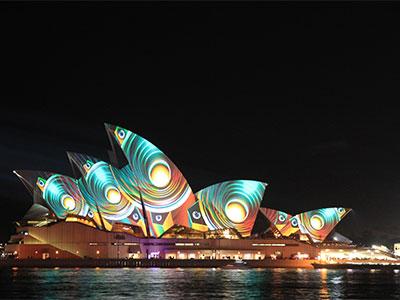 光と音の祭典ビビッドシドニー・世界遺産ブルーマウンテン【絶景 オーストラリア】