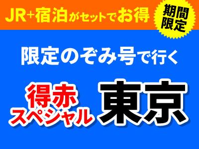 【夏限定】お得に旅に出よう☆ひさびさ旅!東京☆得赤スペシャル