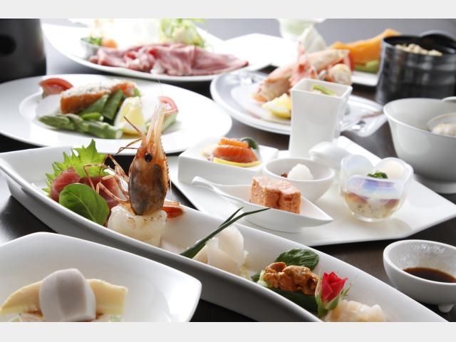 食事処「千華(せんか)」夕食の一例