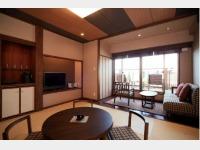【豆陽亭】川側和室一例