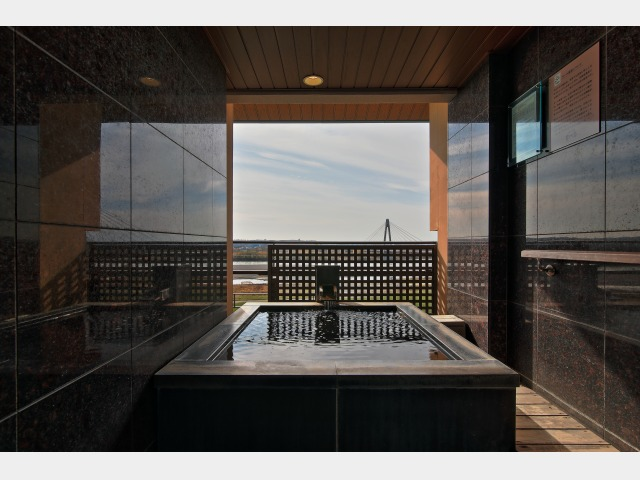 【豊洲亭】展望風呂付洋室一例