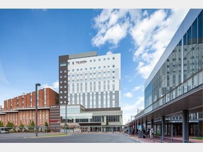 ワイズホテル旭川駅前の外観