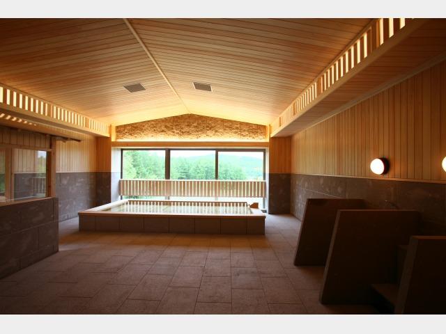 1階檜風呂