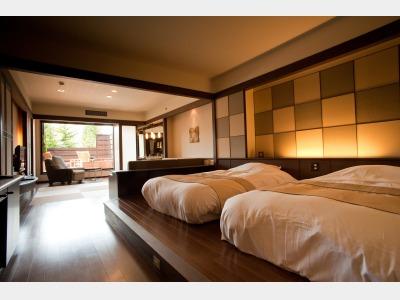 客室一例/露天風呂付和洋室