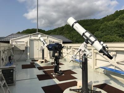 屋上天文台【満天星】