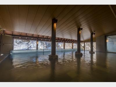 地下一階露天風呂