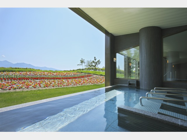 1F 露天風呂PIRIKAの湯 ※温泉ではありません