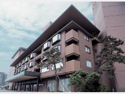 湯の川観光ホテル祥苑の外観