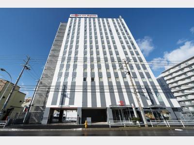 ユニゾインエクスプレス函館駅前の外観