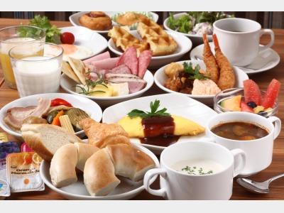 朝食バイキング一例1