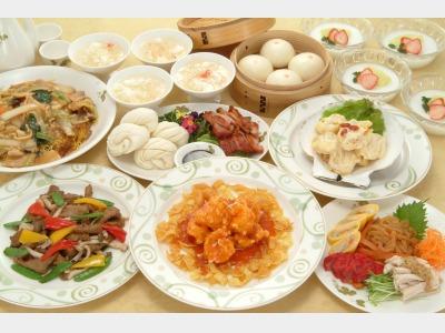 夕食(レストラン・香満楼)